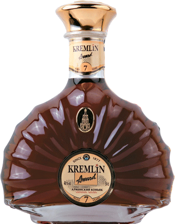 Kremlin Award Brandy   7 Years Old 750ml