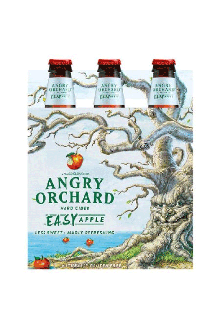 Angry Orchard Easy Apple Cider 6pk