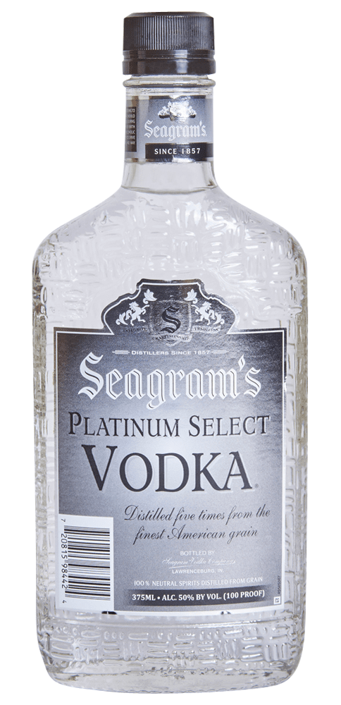 Seagram's Vodka 100 Proof 200ml