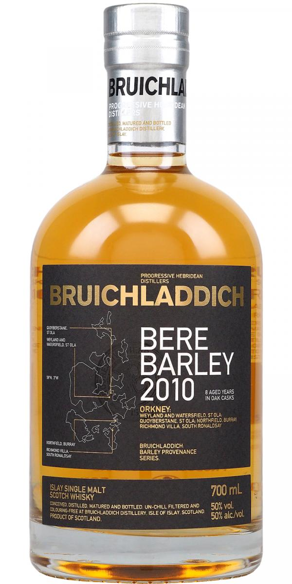Bruichladdich 2010 Bere Barley Single Malt Whisky 750ml