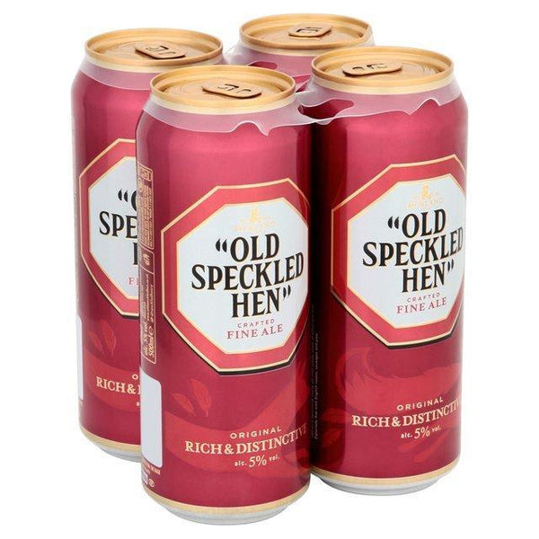 Old Speckled Hen 4pk Cans