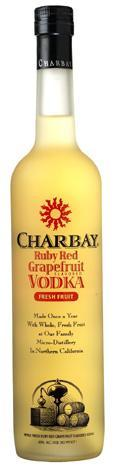Charbay Ruby Red Grapefruit Vodka 750ml