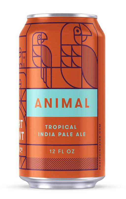 Fort Point Animal 6pk Can