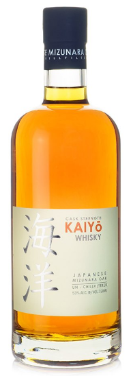 Kaiyo Mizunara Oak Cask Strength Japanese Whisky 750ml