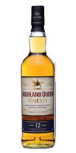 Highland Queen Majesty 12 Year Old Single Malt Whisky 750ml