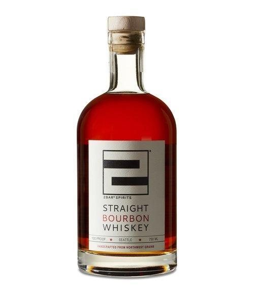 2Bar Spirits Straight Bourbon Whiskey 750ml
