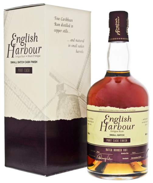 English Harbour Small Batch Port Cask Rum 750ml