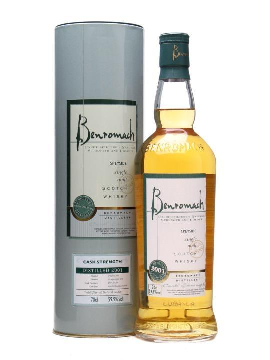 Benromach 9Yr Cask Strength 750ml