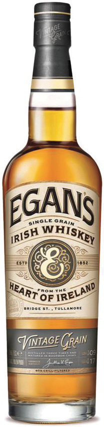 Egan's Irish Vintage Single Grain Whiskey 750ml