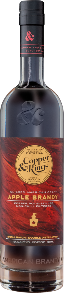 Copper & Kings Un-Aged Apple Brandy 750ml