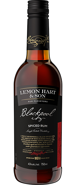 Lemon Hart Blackpool Spiced Rum 750ml
