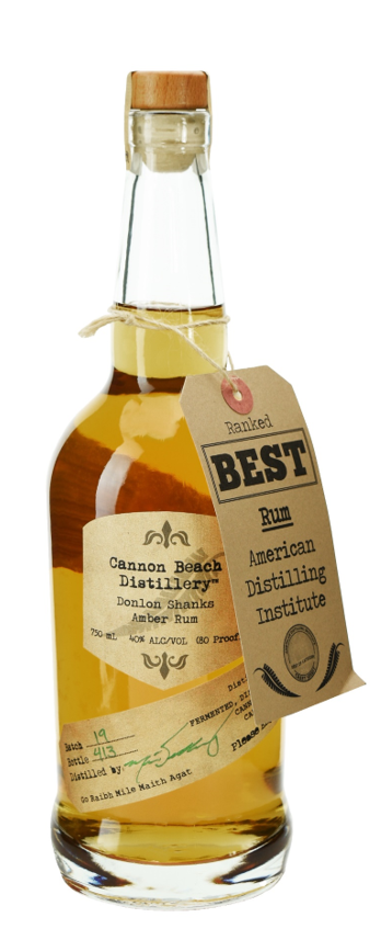Cannon Beach Donlon Shanks Amber Rum 750ml
