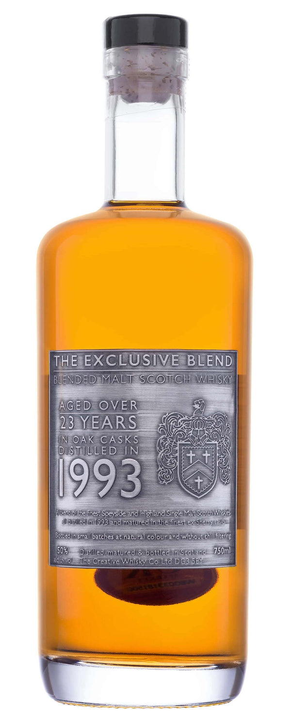 Exclusive Blend 1993 23Yr Whiskey 750ml