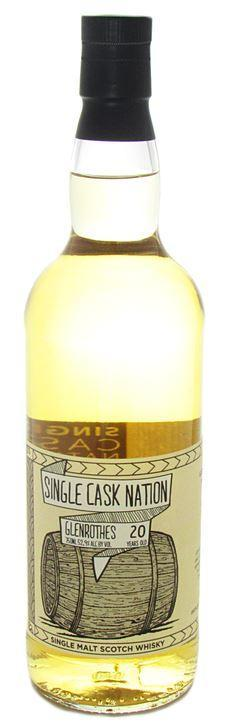 Single Cask Nation Glenrothes 20Yr 1997 750ml