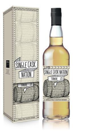 Single Cask Nation Tormore 21Yr 1996 750ml