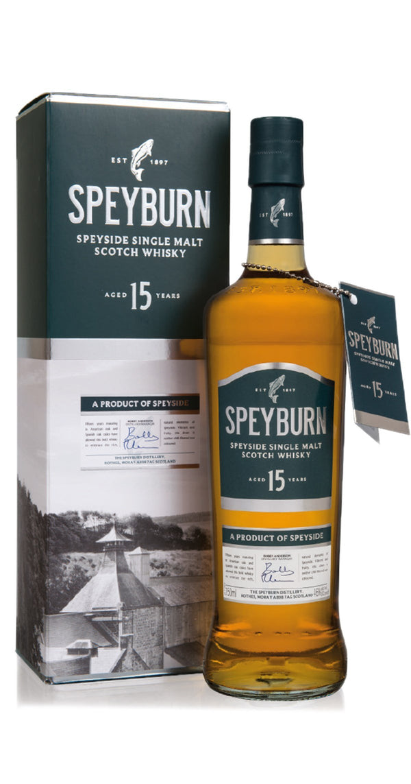 Speyburn Single Malt 15 Years 750ml