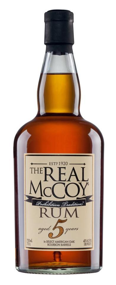 The Real McCoy Rum 5 Yr. 750ml