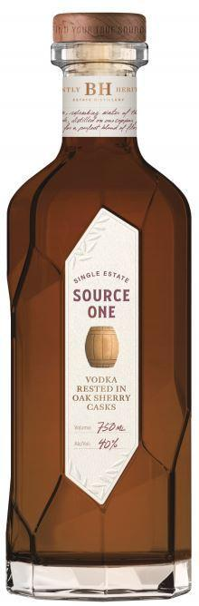 Source One Single Estate Sherry Oak Vodka 750ml