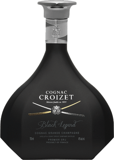 Croizet Cognac Black Legend 750ml