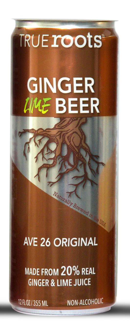 True Roots Ginger Beer 12oz Cans