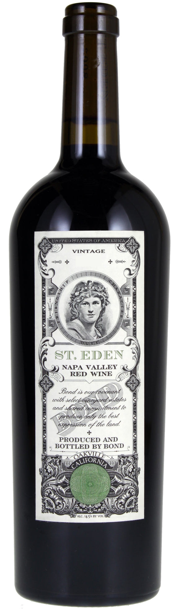 Bond St. Eden Red Napa 2016 750ml