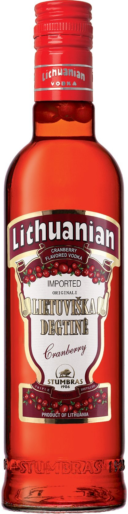 Lithuanian Cranberry Vodka 750ml