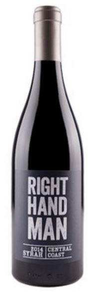 McPrice Myers Right Hand Man Syrah 2017 750ml