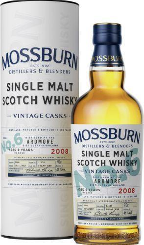Mossburn No.6 Ardmore 9yr Whisky 750ml