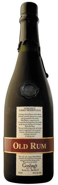 Gosling's Old Rum 750ml