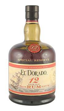 El Dorado Rum 12 Yrs. 750ml