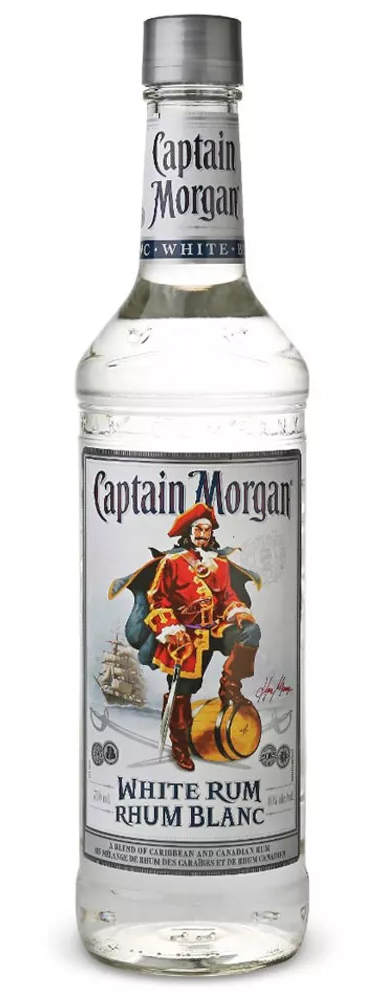 Captain Morgan White Rum 750ml