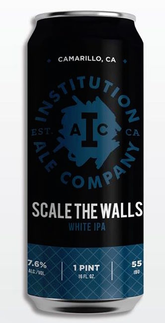Institution Scale the Walls IPA 16oz Can