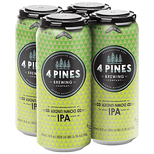 4 Pines Down Under IPA 16oz Can