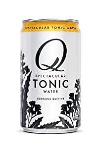 Q Tonic Water 7.5oz 4pk Cans