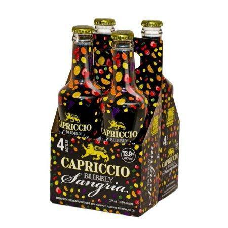 Capriccio Red Bubbly Sangria 4pk 375ml Bottles