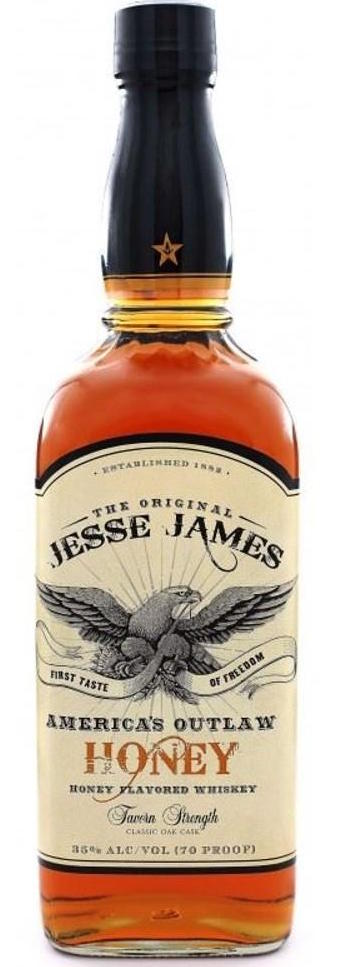 Jesse James Honey Flavored Whiskey 750ml