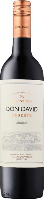El Esteco Don David Reserve Malbec 2018 750ml