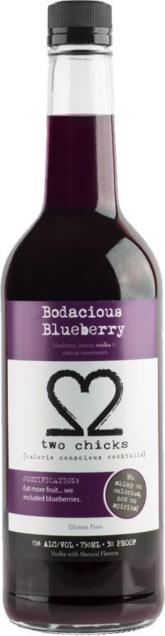 Two Chicks Bodacious Blueberry 750ml