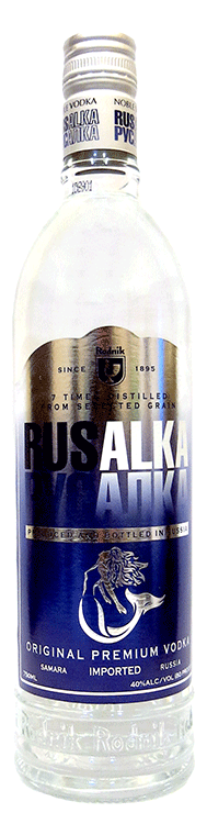 Rusalka Russian Vodka 750ml