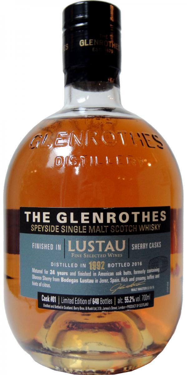 The Glenrothes Lustau Wine Cask 750ml