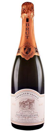 Allimant-Laugner Cremant d'Alsace Rose 750ml