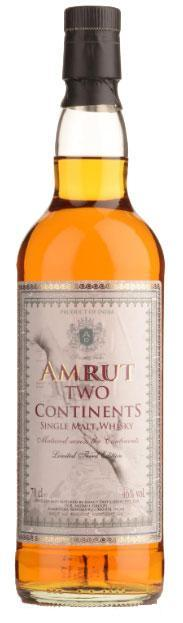 Amrut Single Malt Two Continents 750ml