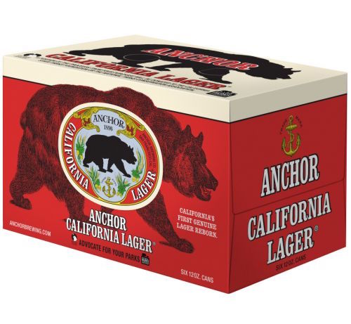 Anchor California Lager 6pk Cans