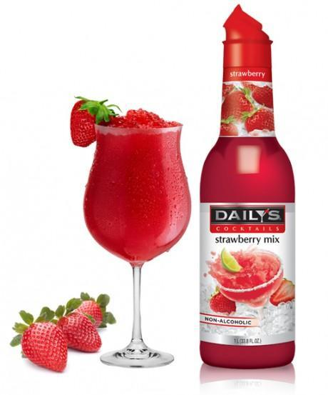 Daily S Strawberry Margarita Mix 1l Mission Wine Spirits