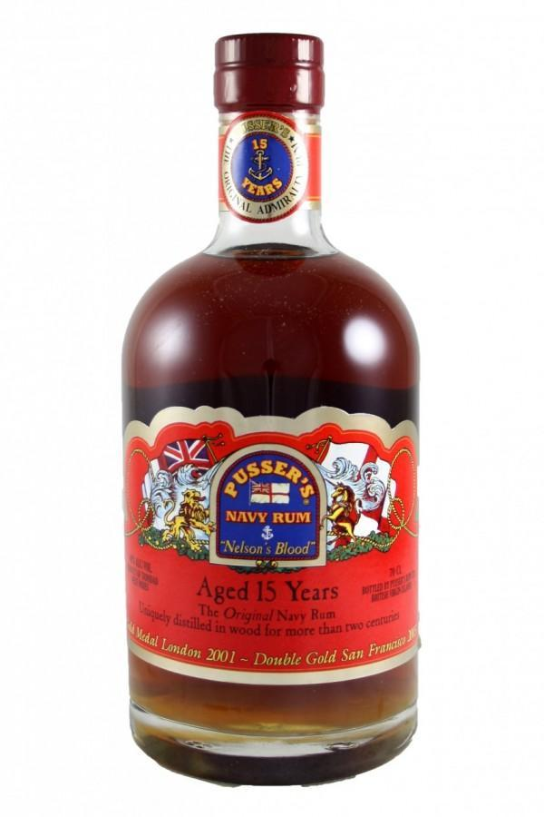 Pusser's Rum 15 Yrs 750ml