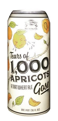 Mt. Lowe Brewing Tears of 1000 Apricots 16oz 4pk Cans