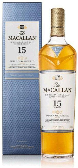 The Macallan Triple Cask Matured 15 Years Old 750ml