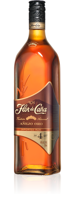 Flor De Cana 4 Yrs Gold 750ml