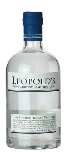 Leopold Navy Strength Gin 750ml