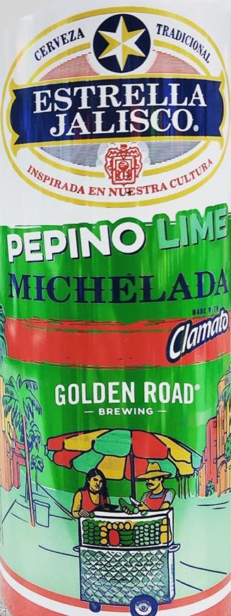 Estrella Jalisco Pepino Lime Michelada 25oz Can